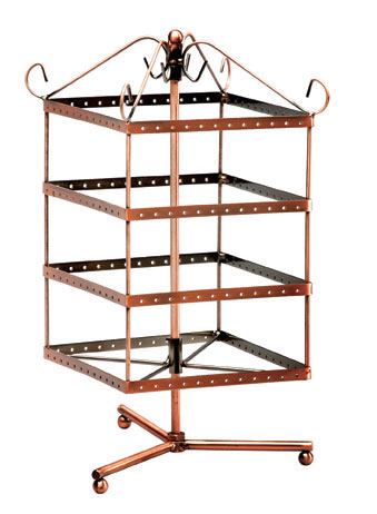 M400CP Jewellery Display Stand Revolving Square 40 Levels Enchanting Revolving Jewelry Display Stand