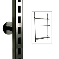 S8001 series - Maxislot 32 mm Square Upright 2400mm with Off-set Mount