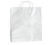 BW03/100  - Medium White Paper Bag - Box of 100