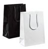 A8032BK - Small Black Paper Bag Glossy - Packet of 10