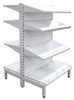 Centre Unit Supermarket Shelving - Heavy Duty