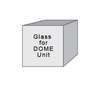 DGLASS - 0.5 cm Tempered Glass for DOME Unit