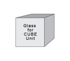 CUBEGlass - 5 mm Tempered Glass for CUBE Unit