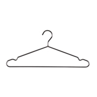 H3101CH - Deluxe Metal Hanger with Notches & Rail