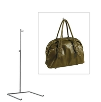 M2810CH - Handbag Display Stand Large - 510-770mm Adjustable Height - Chrome