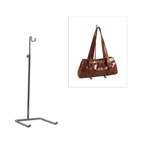 M2800CH - Handbag Display Stand Small - 300-570mm Adjustable Height - Chrome
