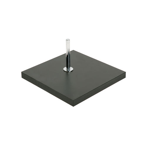B7602BK - Base For Torso Or Busts with Spigot & 900mm Pole