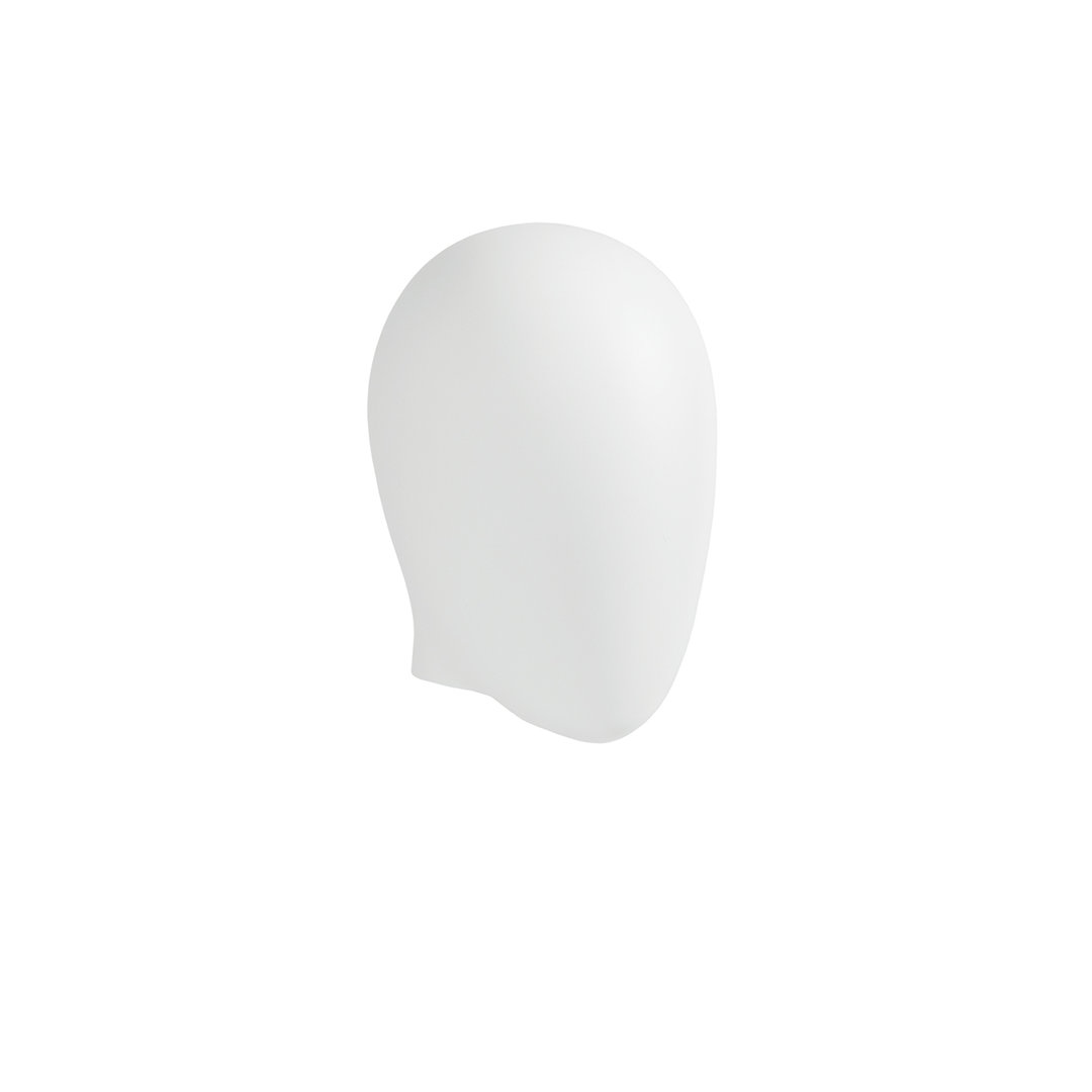 B9431WH - Abstract Head to suit Plastic Female Mannequins