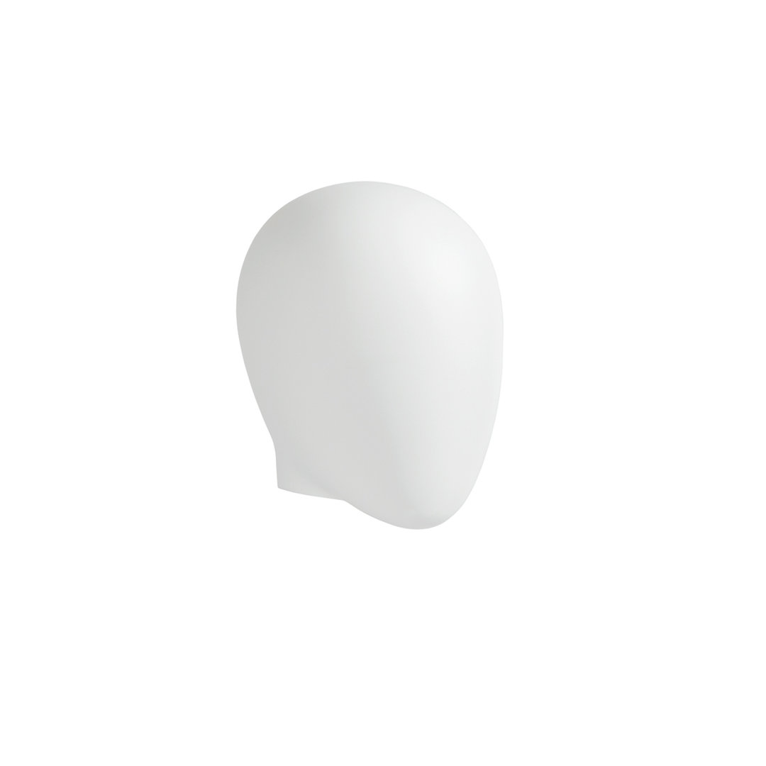 B9436WH - Abstract Head to suit Plastic Female Mannequins