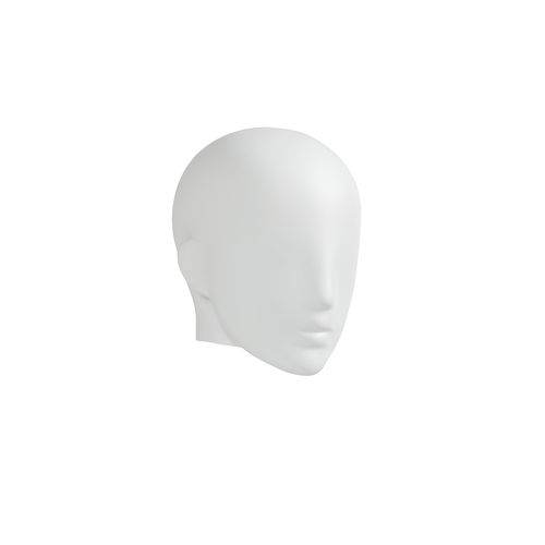 B9437WH - Semi-Abstract Head to suit Plastic Female Mannequins