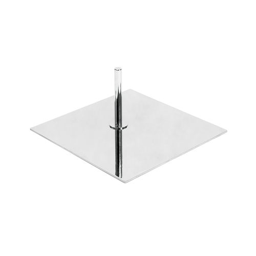 B7602CH - Base For Torso Or Busts with Spigot & 900mm Pole - Chrome